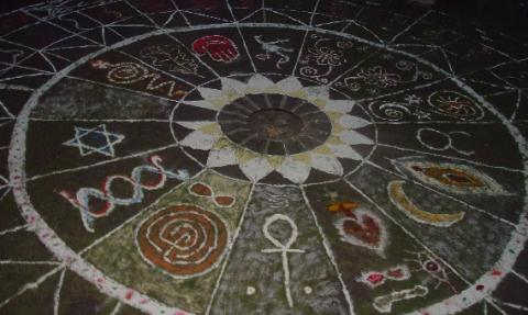 this design was from 2007, our  SHF community rangoli